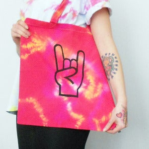 Image of 'Metal' Tote Bag