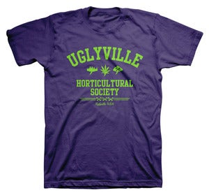 Image of HORTICULTURE TEE PURPLE