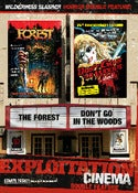Image of EXPLOITATION CINEMA: DON'T GO IN THE WOODS + THE FOREST (LIMITED AMOUNT)