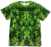Image of Kaleido-Cannabis shirt