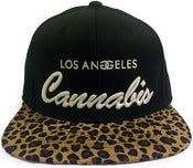 Image of Leopard Los Angeles Cannabis strapback