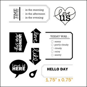 Image of love today stamp set