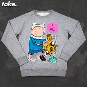 Image of Toke - Adventures with BONGS  - Sweatshirt