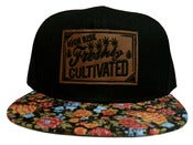 Image of Freshly Cultivated Orange Floral SnapBack (Limited)