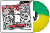 Image of Punchline<br>'Politefully Dead & Action'<br>CD & LP (green/yellow)