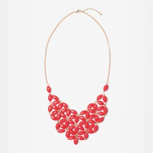Image of Ruby Daisy Tessellate Necklace