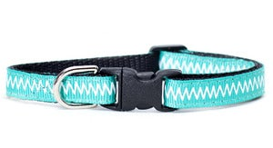 Image of Sweet Pickles' Design Cat Collar - The Teal The Cats Come Home