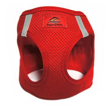 Image of American River Ultra Choke-Free Mesh Dog Harness - Red