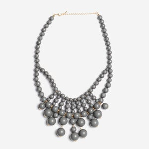 Image of Grey Cascade Bubble Necklace