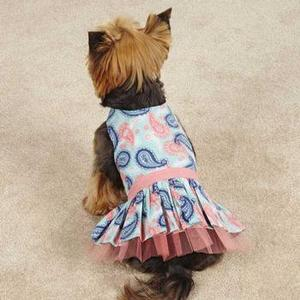 Image of Fresh Water Paisley Dog Dress
