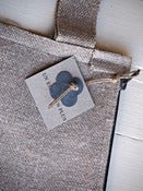 Image of Zinc/Linen range - Linen Pouch