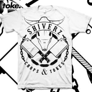 Image of Shiverz - chops & tokes - Tee