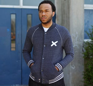 "Image of Official ""X"" Tri-Blend Jacket l Eco Vintage Black"