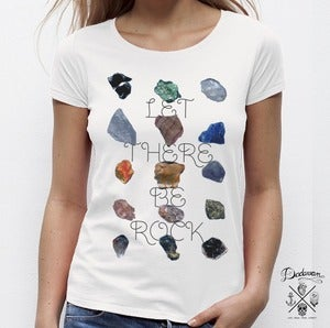 Image of T-shirt femme Let There Be Rock