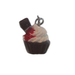 Image of Stabbed cupcake necklace