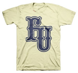 Image of FU VARSITY TEE CREAM