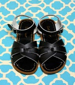 Image of Saltwater Sandals: Black