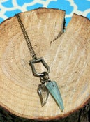 Image of Ornamental Things Green Tooth Necklace