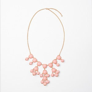 Image of Pink Mini Bubble Necklace