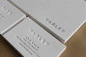 Image of Custom Business Card Design (& letterpress printing - optional)