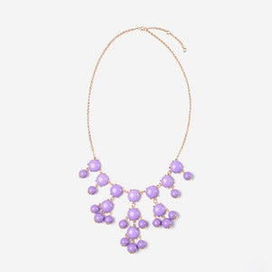 Image of Lavender Mini Bubble Necklace