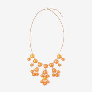 Image of Orange Mini Bubble Necklace