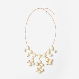 Image of Ivory Mini Bubble Necklace