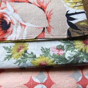 Image of Polly Barkcloth Fabric Scrap bags