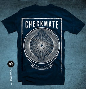 Image of T-Shirt 'Circle' Navy Blue