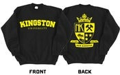 Image of NK - KINGSTON UNIVERSITY SWEATER (Black & Gold)