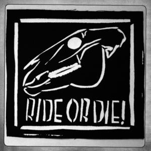Image of SICK Ride Or Die! Patch - Black