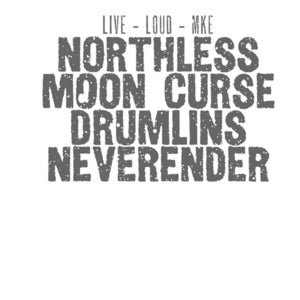 Image of Live Loud MKE/Northless, Moon Curse, Drumlins, Neverender