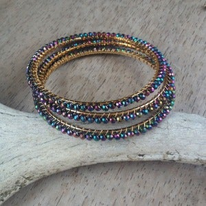 Image of Iridescent Bangle
