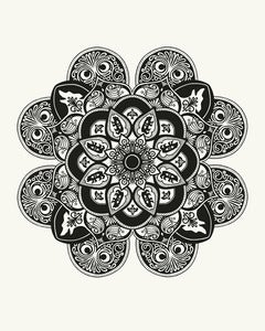 Image of Mandala Art Print // 16x20