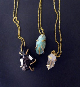 Image of PETRA SEIZED THE DAY - necklace (turquoise)