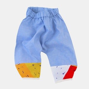 Image of Monkey Pants - Oxford+Block