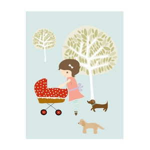 Image of 'Elsie and friends' Art Print