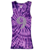 Image of PS 9 Embellished Tank (Purple Tie Dye or Navy)