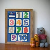 Image of 123... Counting poster