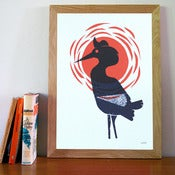 Image of Stork - Screenprint