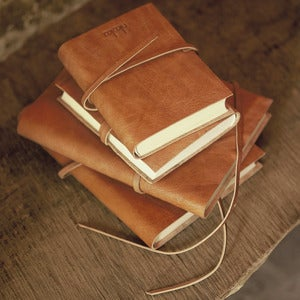 Image of Rustic A6 Leather Journals