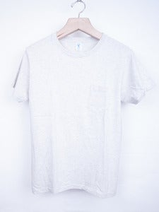Image of Velva Sheen - Pocket Tee Oatmeal