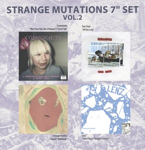 "Image of Strange Mutations Vol. 2 7"" box set ft. Cosmonauts/Lenz/Teenage Burritos/Fine Steps PREORDER"
