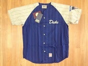 Image of Vintage Deadstock Duke Blue Devils Pinstripe Baseball Jersey