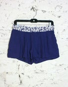 Image of Tulle Wish Flower Waistband Pleated Shorts