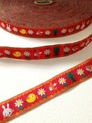 Image of Summer Forest woven ribbon (by the metre)