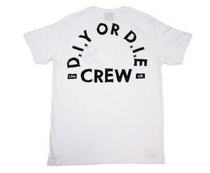 Image of S.O.O.N | D.I.Y or D.I.E Tee | White