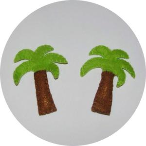 Image of Palm Tree Brooches