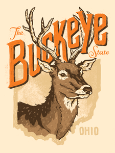 Image of The Buckeye State - Poster