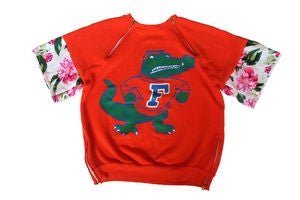 "Image of D.Fame Floral ""Florida Gators"" Crewneck"
